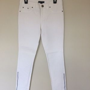 INC INTERNATIONAL CONCEPTS 6 Jeans SKINNY White